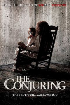 The Conjuring movie poster.