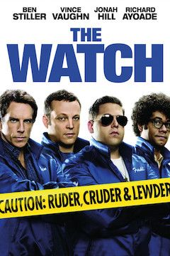 The Watch movie poster.