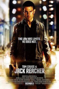 Jack Reacher movie poster.