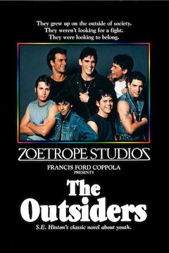 Poster for the movie The Outsiders