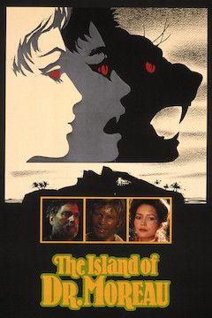 The Island of Dr. Moreau movie poster.