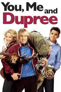 You, Me and Dupree movie poster.
