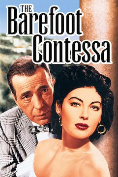 The Barefoot Contessa movie poster.