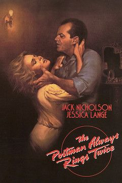The Postman Always Rings Twice movie poster.