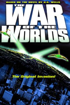 The War of the Worlds movie poster.