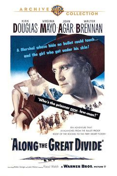 Along the Great Divide movie poster.