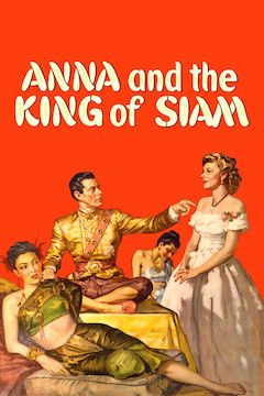 Anna and the King of Siam movie poster.