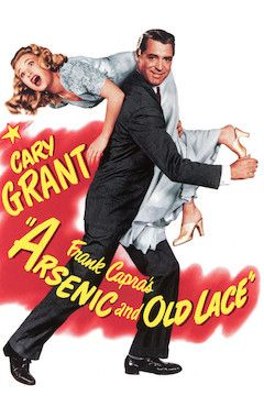 Arsenic and Old Lace movie poster.
