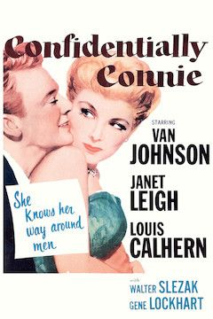 Confidentially Connie movie poster.