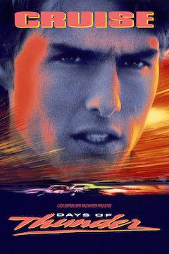 Days of Thunder movie poster.