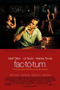 Factotum movie poster.