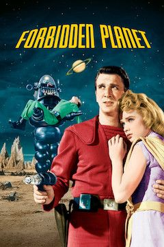 Poster for the movie Forbidden Planet