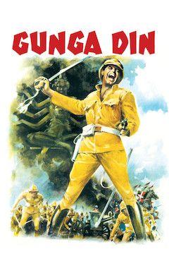 Gunga Din movie poster.