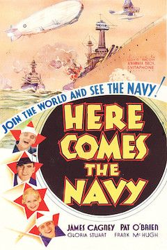 Here Comes the Navy movie poster.