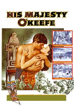 His Majesty O'Keefe movie poster.