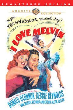 I Love Melvin movie poster.