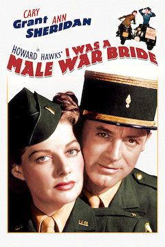I Was a Male War Bride movie poster.