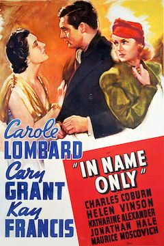 In Name Only movie poster.