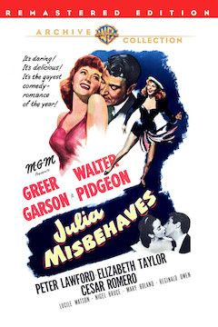 Julia Misbehaves movie poster.