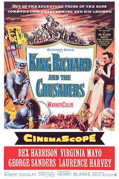 King Richard and the Crusaders movie poster.