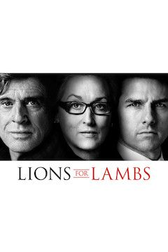 Lions for Lambs movie poster.