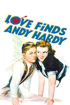 Love Finds Andy Hardy movie poster.