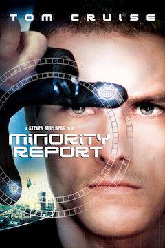 Minority Report movie poster.