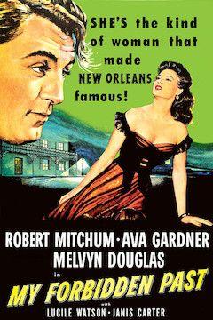 My Forbidden Past movie poster.