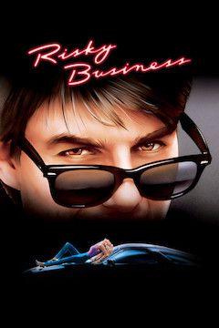 Risky Business movie poster.