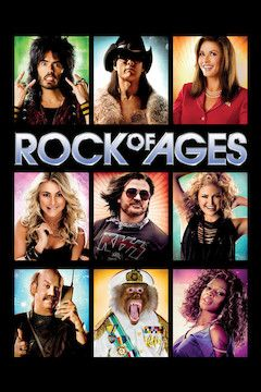 Rock of Ages movie poster.