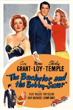 The Bachelor and the Bobby-Soxer movie poster.