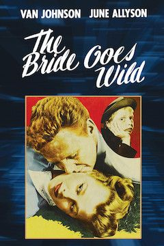 The Bride Goes Wild movie poster.