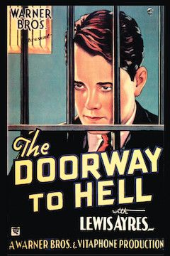 The Doorway to Hell movie poster.