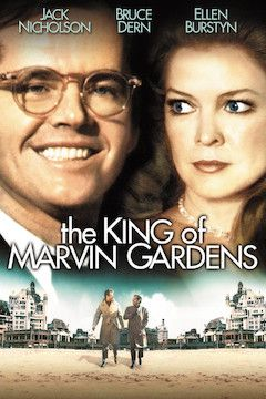 The King of Marvin Gardens movie poster.