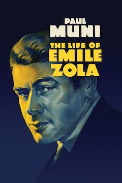 The Life of Emile Zola movie poster.
