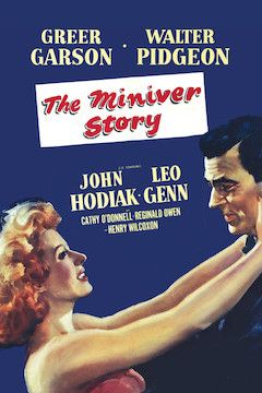 The Miniver Story movie poster.