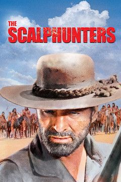 The Scalphunters movie poster.