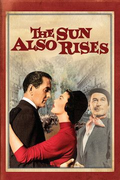 The Sun Also Rises movie poster.