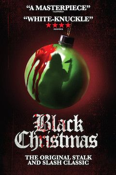 Black Christmas movie poster.