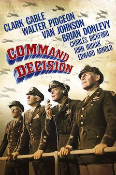 Command Decision movie poster.