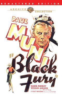 Black Fury movie poster.