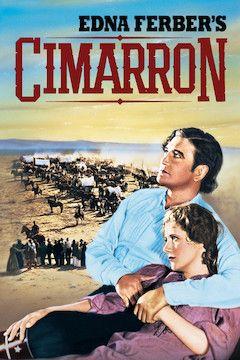 Cimarron movie poster.
