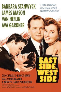 East Side, West Side movie poster.
