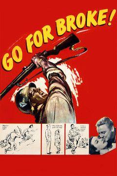 Go for Broke movie poster.