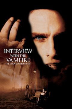 Interview With the Vampire movie poster.