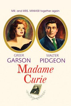 Madame Curie movie poster.