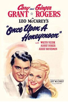 Once Upon a Honeymoon movie poster.