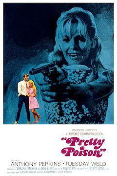 Pretty Poison movie poster.