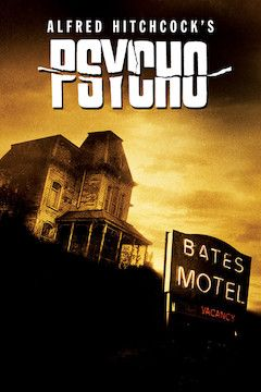 Poster for the movie Psycho