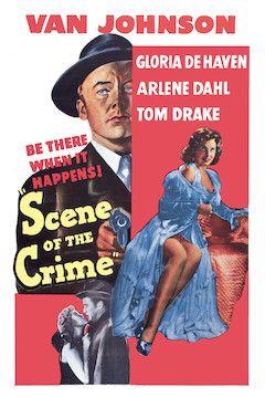 Scene of the Crime movie poster.